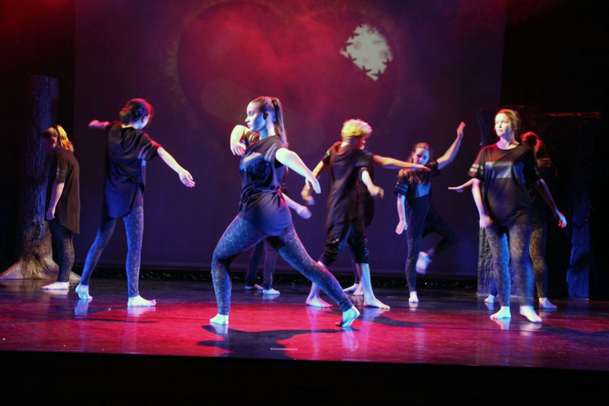 Hip Hop and Contemporary dance...